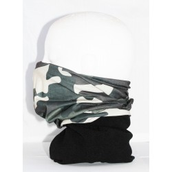 Camo Multi use Fleece Combination Neck Tube